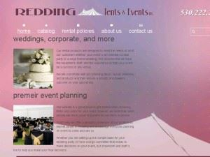 Redding Tents And Events