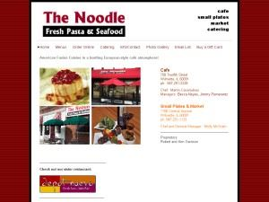 The Noodle Cafe / Seasonings Catering