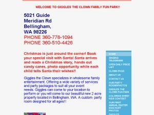 Giggles the clown Fun Farm and entertainment - Everson