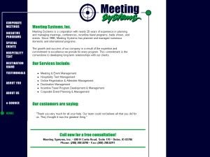 Meeting Systems, Inc.