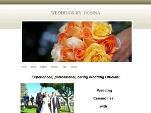 Weddings by Donna - Tacoma - Kent