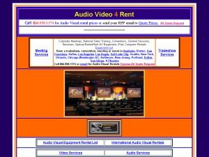 Audio Video   4 Rent