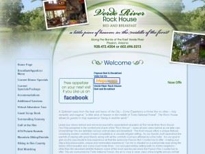 Verde River Rock House Bed and Breakfast Payson-AZ