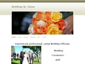 Weddings by Donna - Tacoma - Seattle - Auburn