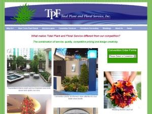 Total Plant and Floral Service, Inc.
