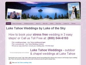 Lake of the Sky Weddings