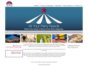 All Star Party Rental