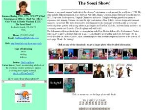 The Soozi Show! - Manhattan Beach
