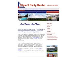 Triple-S Party Rental