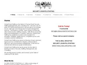 Global Event Staffing