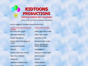 Kidtoons Productions