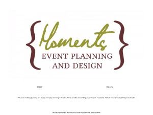 Moments Event Planning and Design