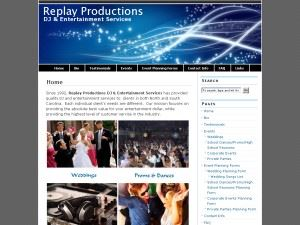 REPLAY PRODUCTIONS DJ & ENTERTAINMENT SERVICES