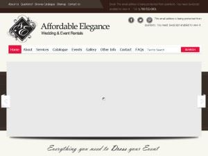 Affordable Elegance Wedding and Decoration Rentals