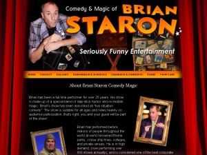 Brian Staron Comedy Magic