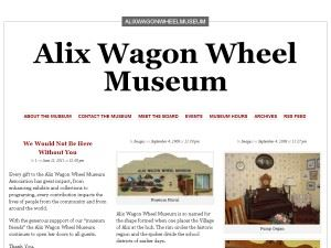 Alix Wagon Wheel Museum