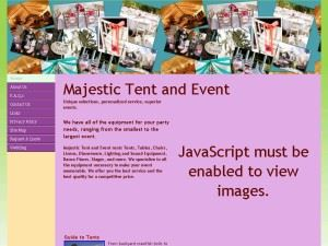 Majestic Tent and Event