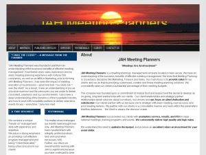 JAH Meeting Planners, Inc - Morristown