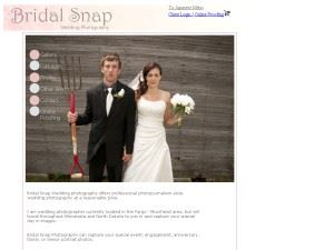 Bridal Snap Photography - Wahpeton