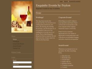 Exquisite Events by Peyton