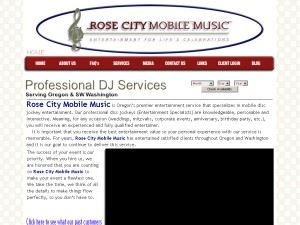 Rose City Mobile Music