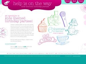 Help Is On The Way Kid's Themed Birthday Parties - Kitchener