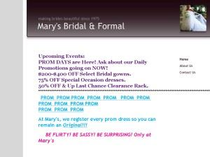 Mary's Bridal & Formal