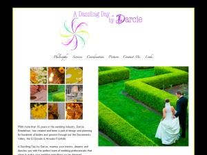 A Dazzling Day weddings by Darcie