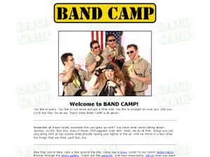 Band Camp - Napa