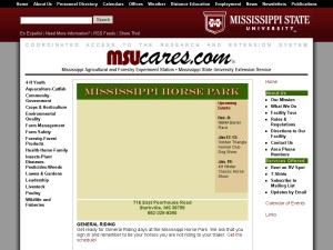 Mississippi Horse Park, Agricenter & Fairgrounds