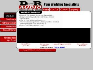 D And R Audio Professional DJ Service