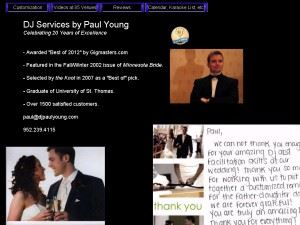 DJ Services By Paul Young