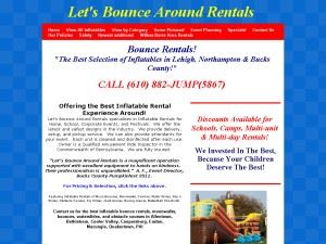 Let's Bounce Around Rentals