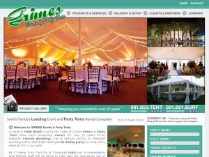 Grimes Events & Party Tents