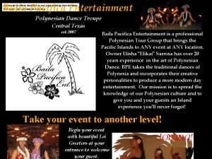 Baila Pacifica Entertainment