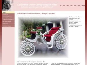 Gala Horse Drawn Carriage