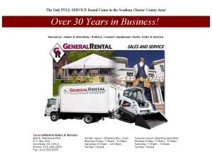 General Rental Sales and Service