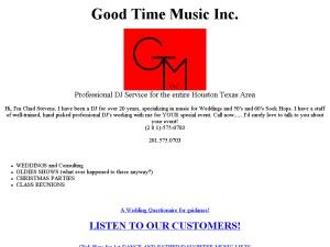 Good Time Music Inc.