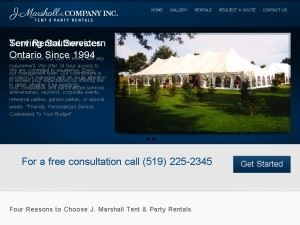 J Marshall Tent Party Rentals