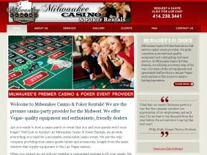 Milwaukee Casino Poker Rentals