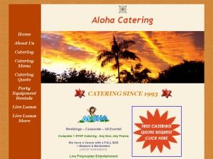 Aloha Catering - Party Equipment Rentals