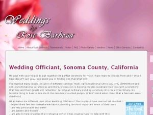 Wedding Ceremonies by Rose Barboza