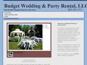 Budget Wedding Rental