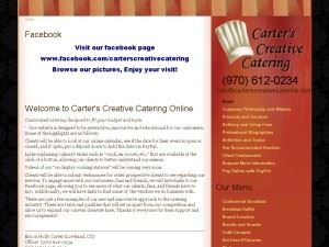 Carter's Creative Catering