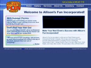 Allison's Fun Incorporated