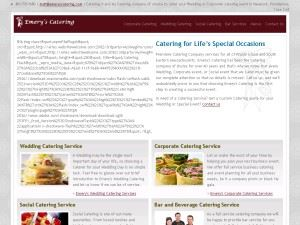 Emery's Catering - Planner Services