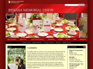 Indiana Memorial Union Catering