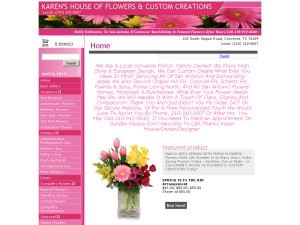 Karen's House Of Flowers And Custom Creations