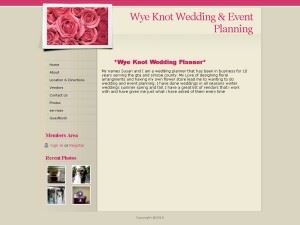 Wye Knot Wedding Planning