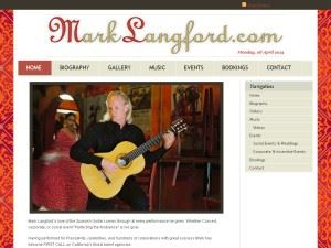 Classical~Flamenco Guitarist Mark Langford